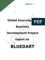 Projec on Bluedart