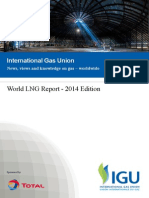 International Gas Union - 2014 World LNG Report