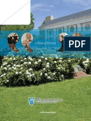 McLean Hospital 2013 Annual Report | Psychiatry | Accrual