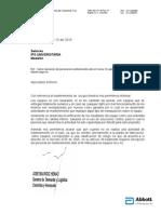 Carta Registro Invima Para Personal de Revisiones Técnicas IPS Universitaria Medellín