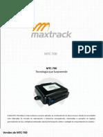 Apresentacao MTC 700PROADV