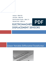 Electromagnetic Displacement Sensors