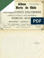 Chile, Album del Norte (Salitrero, Agrícola, Comercio)
