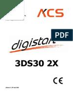 Soft Start ACS Digistart 3DS30 Manual