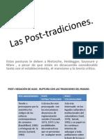 La Post-modernidad y El Post-estructuralismo y La Tradición.pptx.