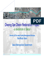 Cheong Gye Cheon Restoration Project