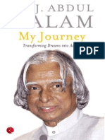My Journey_ Transforming Dreams Into Actions - Kalam a p j Abdul