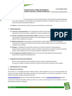 Procedimiento Almacenamiento y Retiro de Residuos Industriales Líquidos y Sólidos Peligrosos._v00