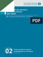 Análisis Político-Económico de La Coyuntura Agosto 2014
