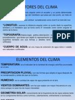 Análisis  Climatológico
