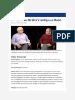 Conversation Stratfor's Intelligence Model - Video