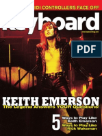 Keyboard Magazine. November 2010