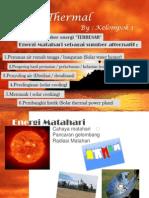 Solar Thermal Presentasi
