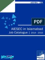 AIESEC in Islamabad Job Catalogue  2014-2015 QIII (1).pdf
