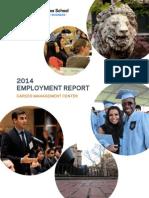 ColumbiaBusinessSchool 2014 Employment Report