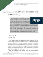 Karl Gustav Jung - Seminar o Ničeovom Zaratustri, Dio IX