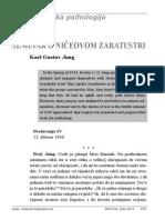 Karl Gustav Jung - Seminar o Ničeovom Zaratustri, Dio VIII