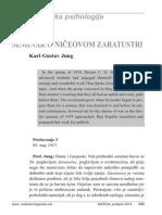 Karl Gustav Jung - Seminar o Ničeovom Zaratustri, Dio X