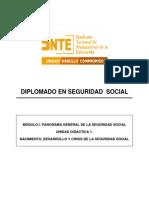 U1 Nacimiento desarrollo y Crisis de la Seguridad Social