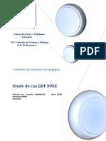 Contrôle de gestion Stratégique Cas GDF Suez
