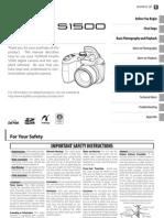 Finepix S1500 Manual