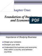 Foundation of Business and Economics