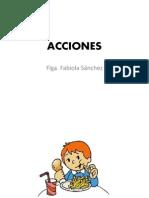 ACCIONES ppt