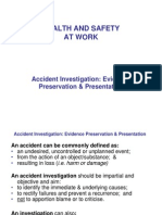 Accident Investigation Reporting IOSH Sept 2012