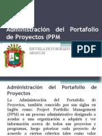 Administración Del Portafolio de Proyectos (PPM