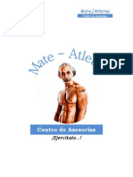 Anteproyecto Mate-Atletas - Centro de Asesorías