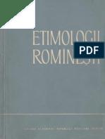 Al.graur - Etimologii Romîneşti [an]