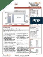 Powerpoint 2011 Mac Cheat Sheet