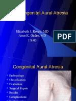 Congenital Aural Atresia