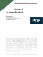 Institucionalización del Movimiento Estudiantil en Chile 2013