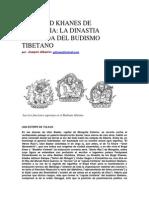 Albaicin, Joaquin - Los Bogd Khanes de Mongolia, La Dinastia Olvidada Del Budismo Tibetano