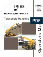 Dl9 44 Telescopic Handler Operator's Manual