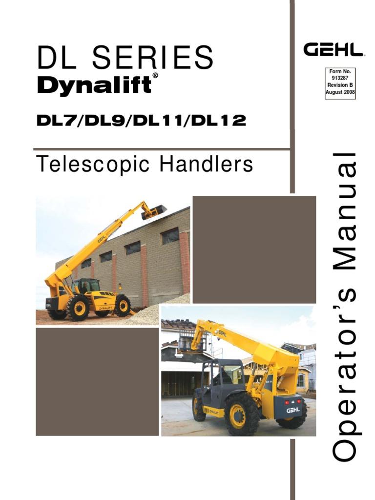 dl9 44 telescopic handler operator u0026 39 s manual