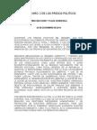 Comunicado Nro 2 de los Presos Politicos de Venezuela 24 de Diciembre de 2014