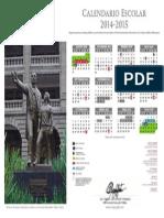 Calendario SEP 2014-2015