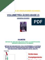 Clase 6 Volumetría Ácido Base (i) Generalidades
