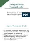 Loi Organisant les Finances Locales au Maroc...par Salah Benyoussef