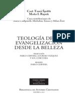 176904417 Teologia de La Evangelizacion Desde La Belleza Bac 2013