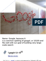GOOGLE ppt by amit
