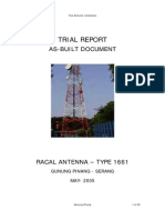 TriaL Report Dual Antenna Racal