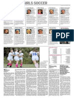 All Area Girl's Soccer