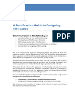 White Paper Best Practice Cube Design