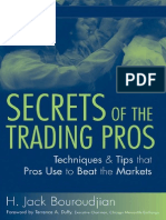 Secrets of the Trading Pros - Techniques and Tips That Pros Use - Bouroudjian 2007