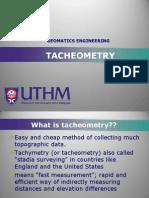 TACHEOMETRY (2)