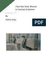 139942821 List of Sixty Four Non Dual Bhairav Agams Saiva Tantras of Kashmir Shaivism Libre