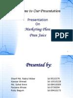Marekting Plan in Pran